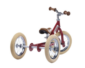 tricycle draisienne rouge