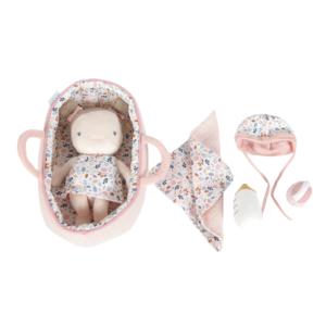 bébé rosa et son couffin little dutch