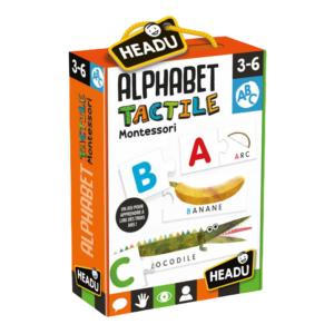 alphabet tactile headu