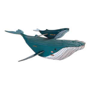 puzzle baleine 3D