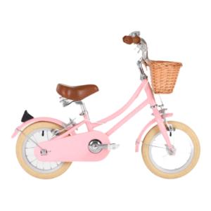 vélo gingersnap 12 pouces rose bobbin