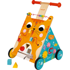 chariot de marche chat